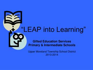 """LEAP into Learning"""