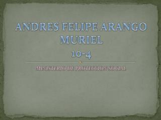 ANDRES FELIPE ARANGO MURIEL 10-4
