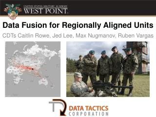 Data Fusion for Regionally Aligned Units