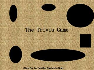 The Trivia Game