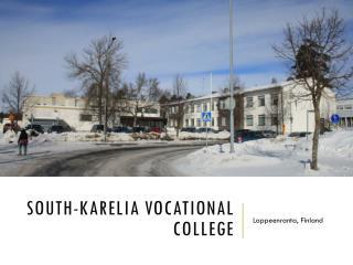 South-Karelia  vocational  college