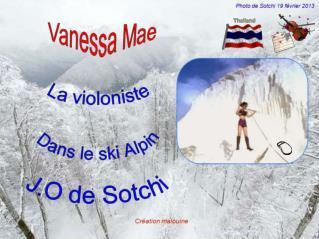 Vanessa Mae née en 1978 à Singapour,  est une violoniste mondialement connue,