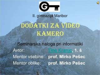 II. gimnazija Maribor