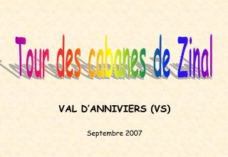 VAL D'ANNIVIERS (VS)