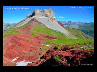 El  Castillo de  Acher  2390m