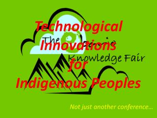 Not just another conference�