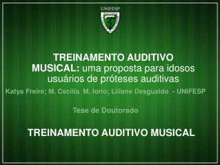 TREINAMENTO AUDITIVO MUSICAL
