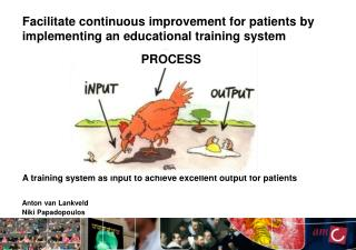 A training system as input to  achieve  excellent output  for patients