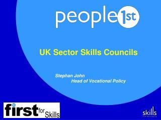UK Sector Skills Councils