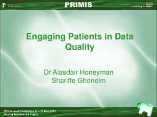 Engaging Patients in Data Quality