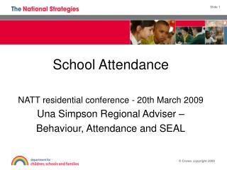 School behaviour and attendance Partnerships
