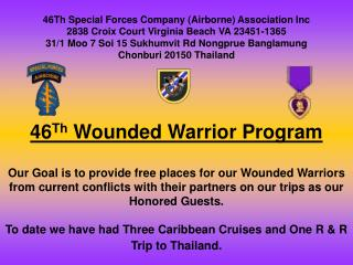 46 Th  Wounded Warrior Program
