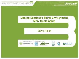 Making Scotland's Rural Environment More Sustainable