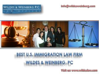 American Immigration Law Firm Wildes and Weinberg