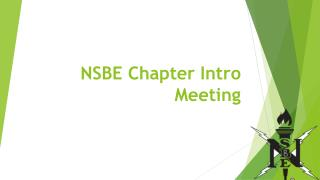 NSBE Chapter Intro Meeting
