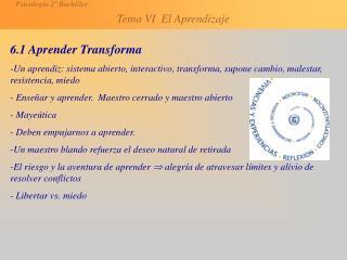 6.1 Aprender Transforma