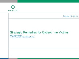Strategic Remedies for Cybercrime Victims