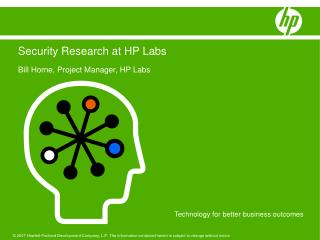 Security Research at HP Labs