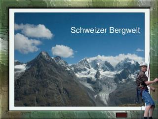 Schweizer Bergwelt