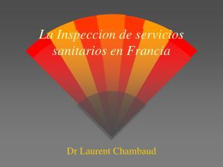 La Inspeccion de servicios sanitarios en Francia