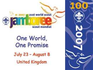 One World, One Promise