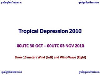 Tropical Depression 2010