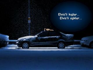 Elvis'li kışlar..    Elvis'li aşklar..