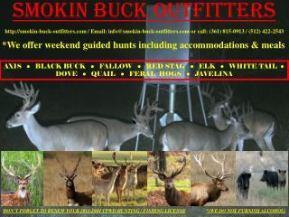 Smokin Buck Outfitters