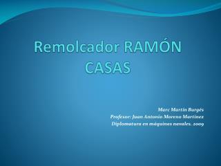 Remolcador RAM�N CASAS