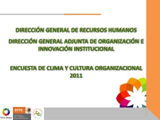 DIRECCI�N GENERAL DE RECURSOS HUMANOS
