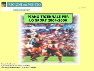 Sport 2004-2006