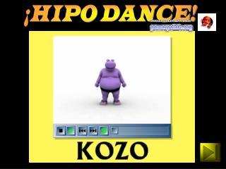¡HIPO DANCE!