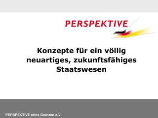 PERSPEKTIVE ohne Grenzen e.V .