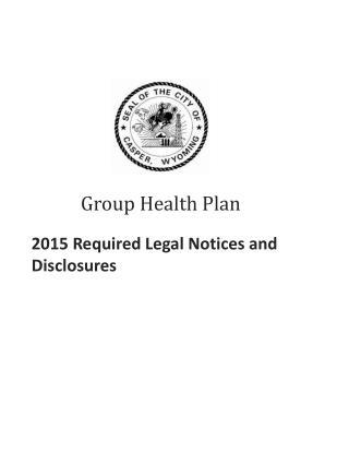 Group Health Plan