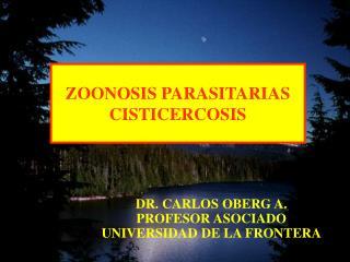 ZOONOSIS PARASITARIAS CISTICERCOSIS
