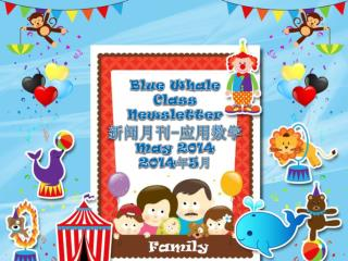 Blue Whale  Class  Newsletter 新闻月刊 - 应用数学 May 2014 2014 年 5 月