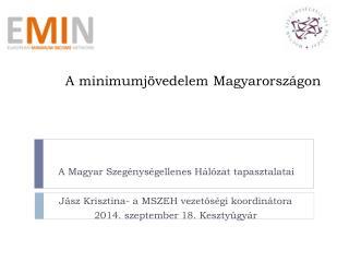 A minimumjövedelem Magyarországon