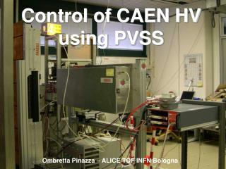 Control of CAEN HV  using PVSS