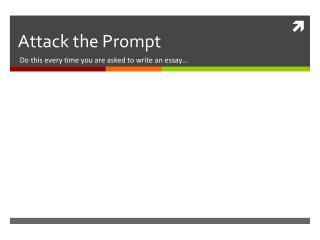 Attack the Prompt
