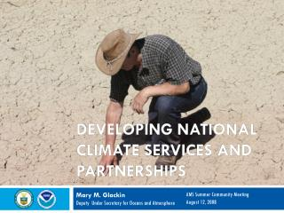 Developing National Climate Services and Partnerships