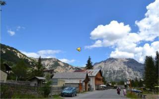 Névache , petit village authentique des  Hautes Alpes.
