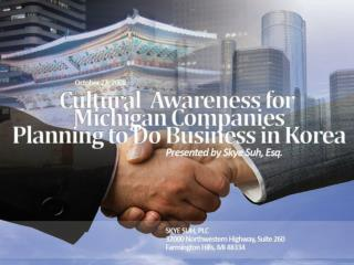"""Doing business"" with Korea -  Understanding Korean culture and how Korean companies ""do business"""