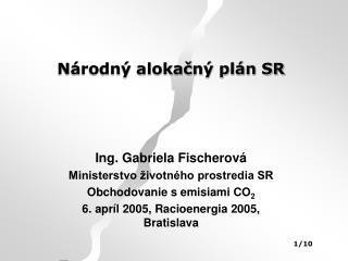 Národný alokačný plán SR