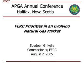 APGA Annual Conference   Halifax, Nova Scotia