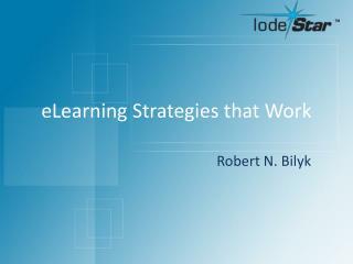 eLearning Strategies that Work