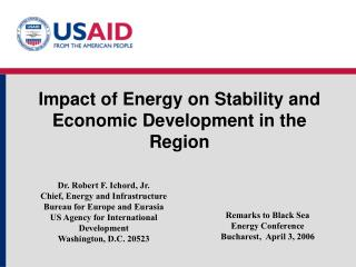 Impact of Energy on Stability and Economic Development in the Region