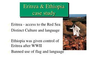 Eritrea  Ethiopia  case study