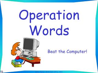 Operation Words