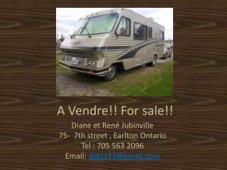 A Vendre!! For sale!!