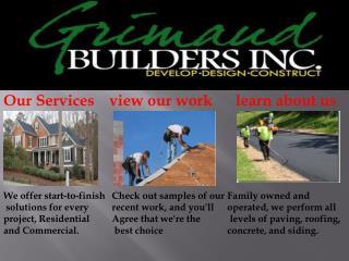 Residential & Commercial Builders - Asphalt, Gutters, Concre